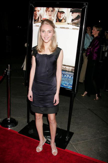 Actress AnnaSophia Robb at the Hollywood premiere of