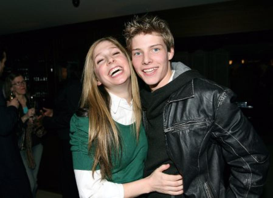 Shoshannah Stern and Hunter Parrish at the Showtime Pre-Golden Globes Celebration.