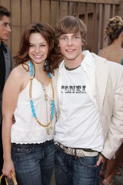 Joy Lauren and Hunter Parrish at the California premiere of