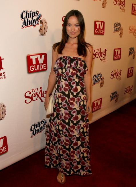 Olivia Wilde at the TV Guides Sexiest Stars Party.