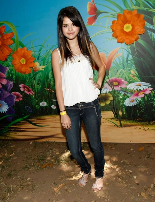 Selena Gomez at the A Time for Heroes Celebrity Carnival.