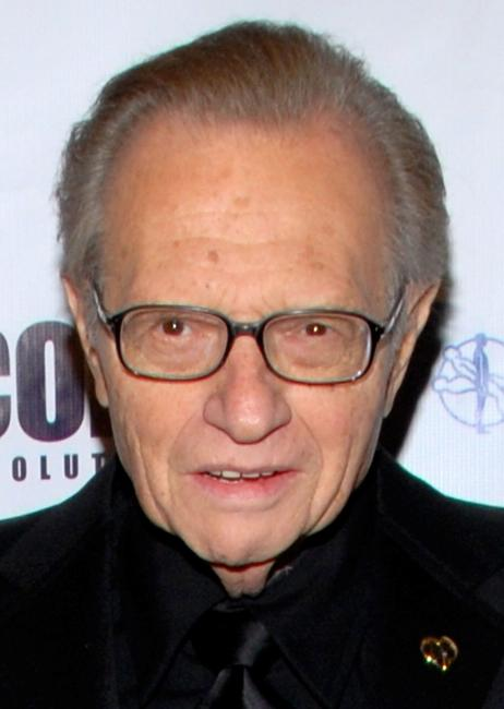 Larry King at the King of Hearts gala.