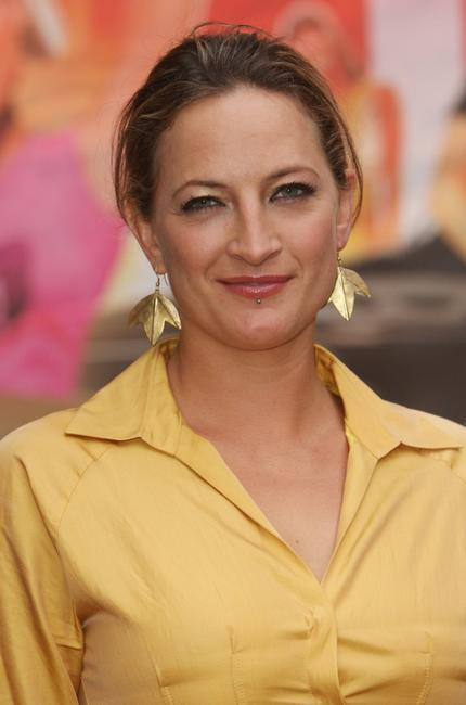 Zoe Bell at the screening of