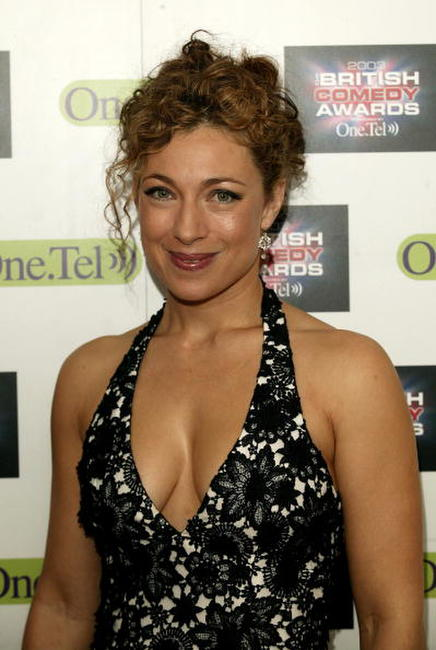 Alex Kingston at the British Comedy Awards 2003.