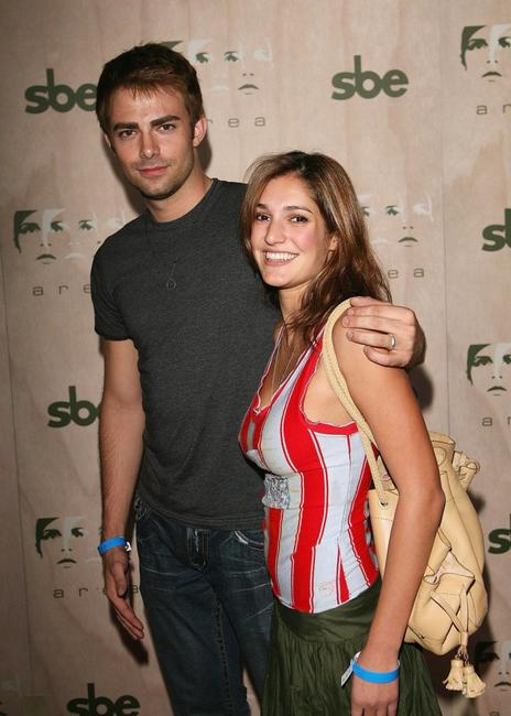 Jonathan Bennett and Wendy Rosenthal at the AREA Nightclub Grand Opening.