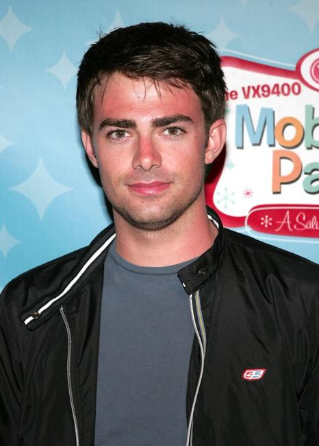 Jonathan Bennett at the LG's Mobile TV party.