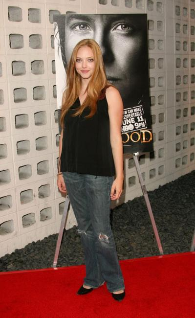 Amanda Seyfried at the premiere of