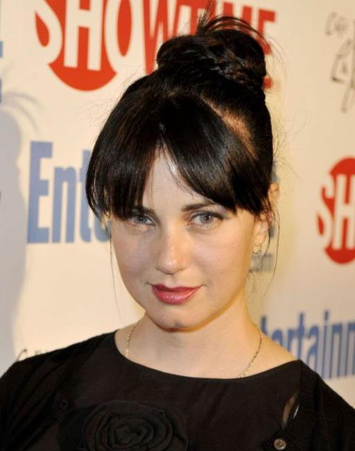 Mia Kirshner at the Showtime's farewell party for