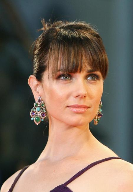 Mia Kirshner at the 63rd Venice International Film Festival's gala opening.