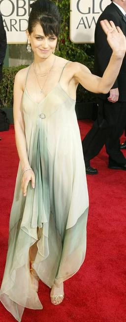 Mia Kirshner at the 61st Annual Golden Globe Awards.
