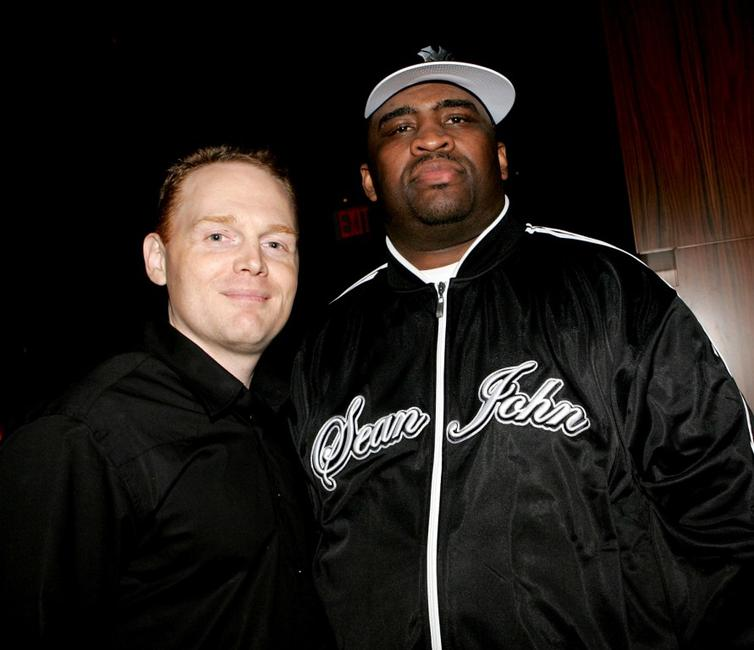 Bill Burr and Patrice O'Neal at the 2nd Annual New York Comedy Festival.