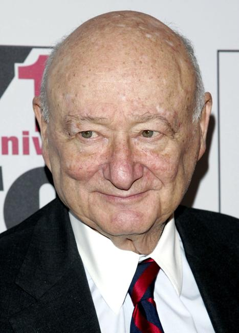 Ed Koch at the Fox News Channel 10th Anniversary celebration.