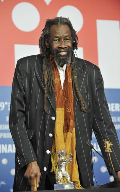 Sotigui Kouyate at the 59th International Berlinale Film Festival.