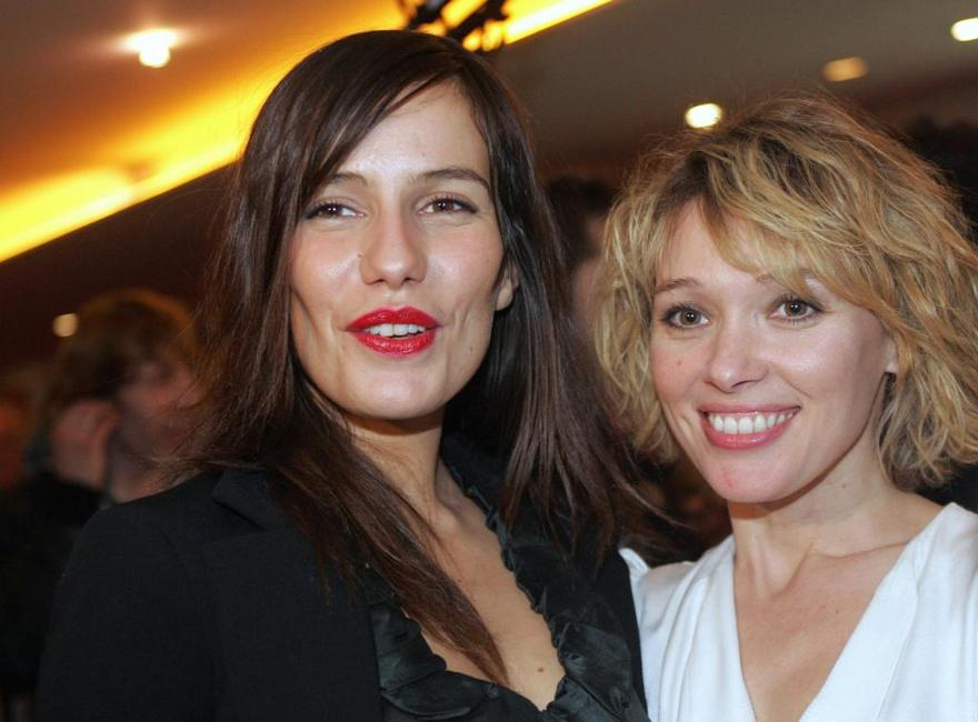 Zoe Felix and Anne Marivin at the premiere of