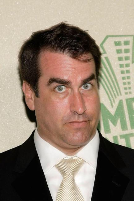 Rob Riggle at the Comedy Central Emmy After Party.