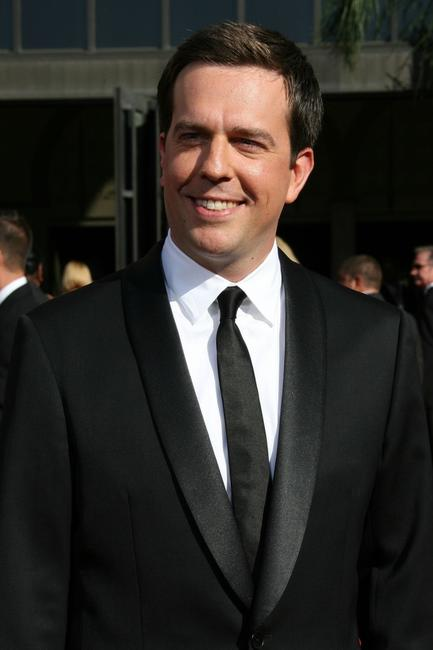 Ed Helms at the 59th Annual Primetime Emmy Awards.