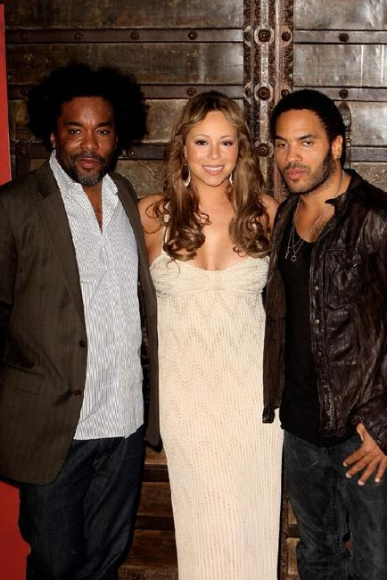 Director Lee Daniels, Mariah Carey and Lenny Kravitz at the photocall of