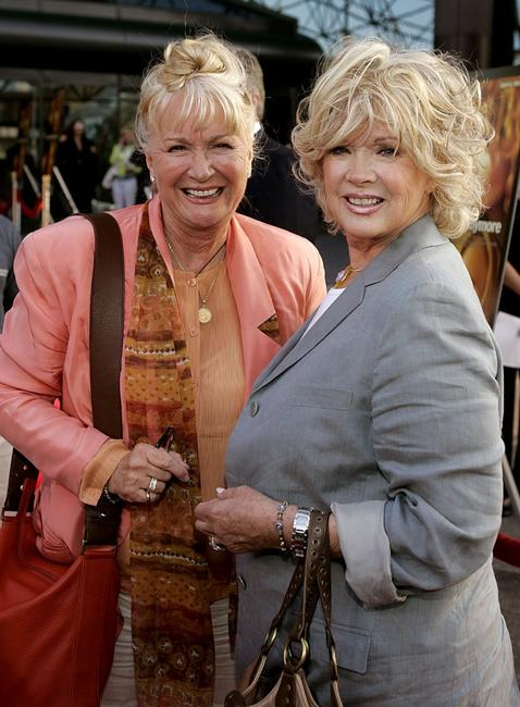 Diane Ladd and Connie Stevens at the Premiere Of