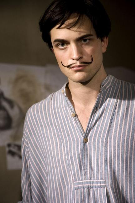 Robert Pattinson as Salvador Dali in