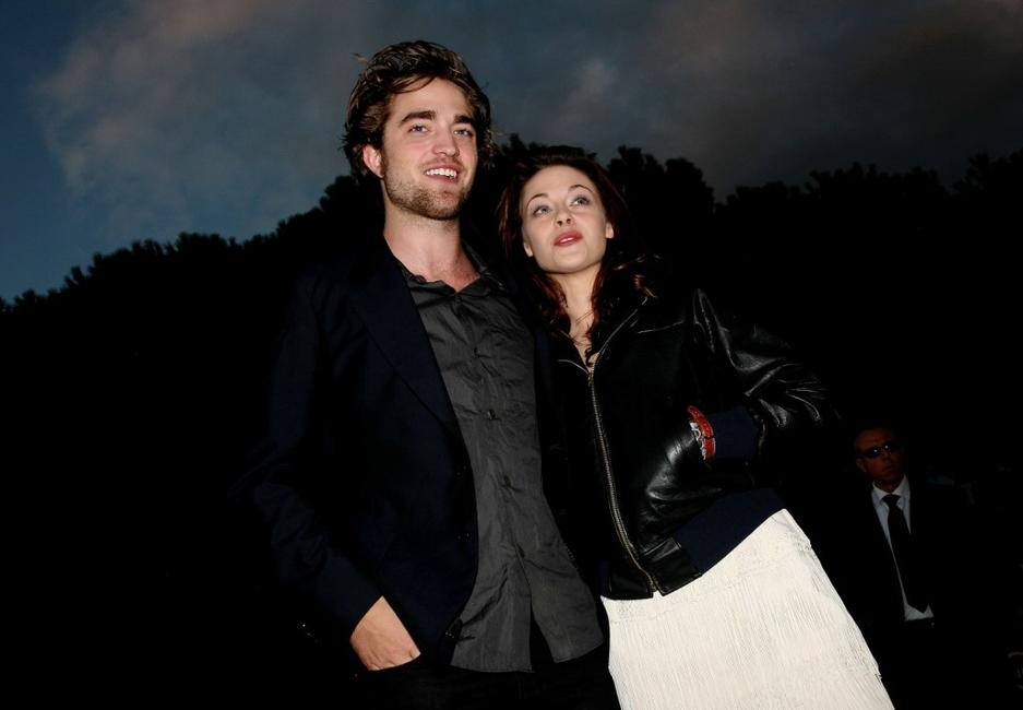 Robert Pattinson and Kristen Stewart at the premiere of