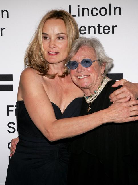 Jessica Lange and Ann Roth at the ceremony in her honor at the Film Society of Lincoln Center.