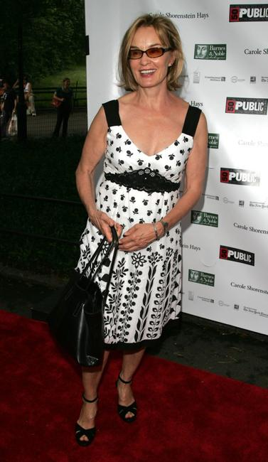 Jessica Lange at the opening night performance of Shakespeare in the Park's