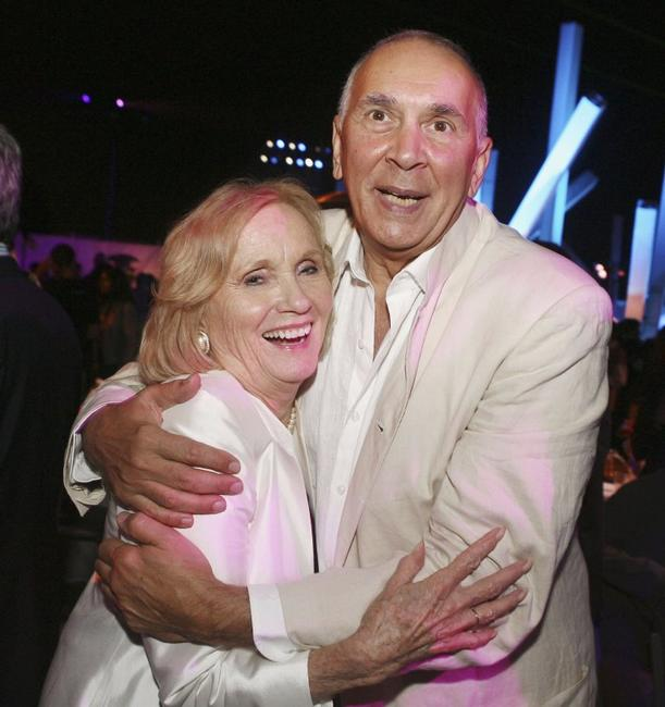 Frank Langella and Eva Marie Saint at the UK premiere of