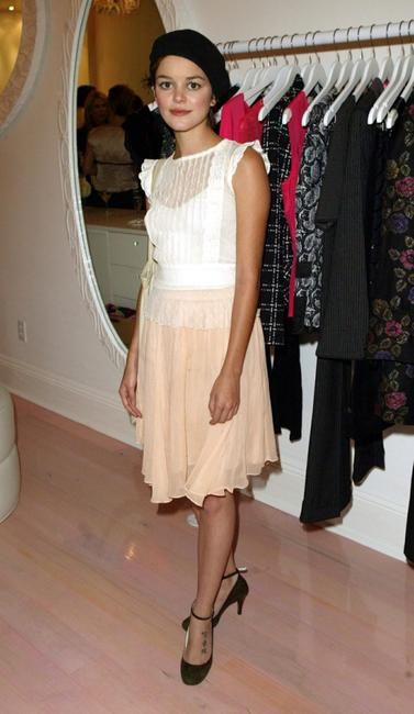 Nora Zehetner at the opening party of Nanette Lepore boutique.