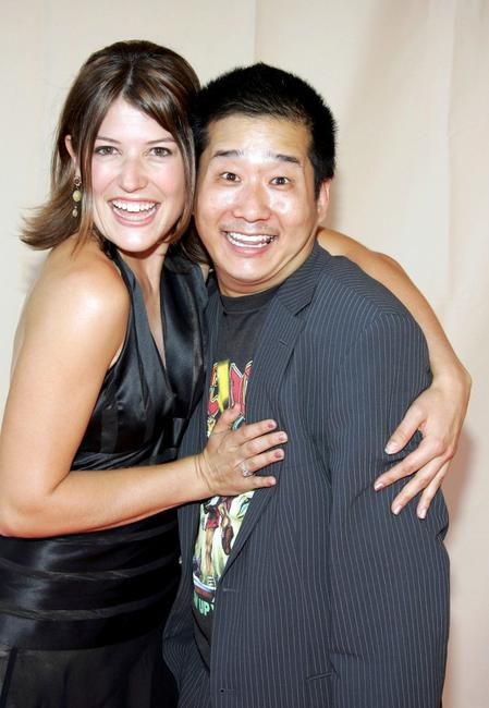 Nicole Parker and Bobby Lee at the 57th Annual LA Area Emmy Awards.