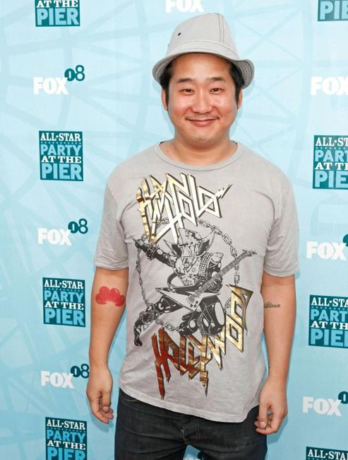 Bobby Lee at the FOX All-Star Party.