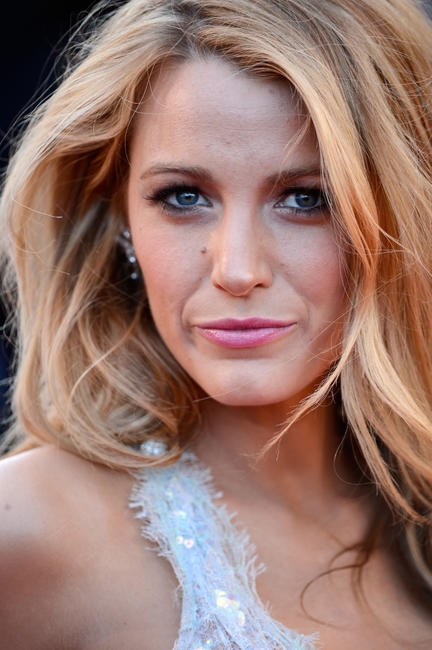 Blake Lively at the premiere of 'Mr Turner' during the 67th Annual Cannes film festival in France.