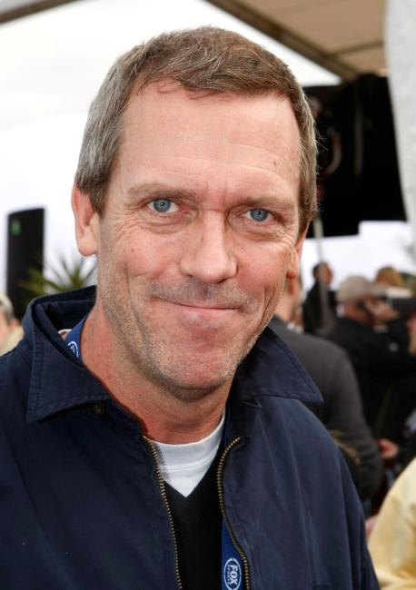 Hugh Laurie at the Fox's Super Bowl XLII red carpet.
