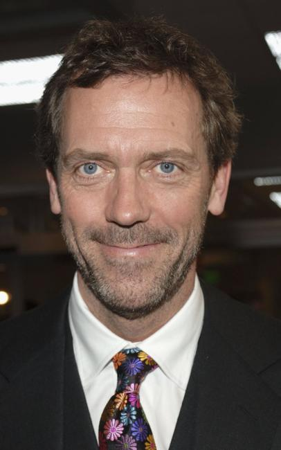 Hugh Laurie at the