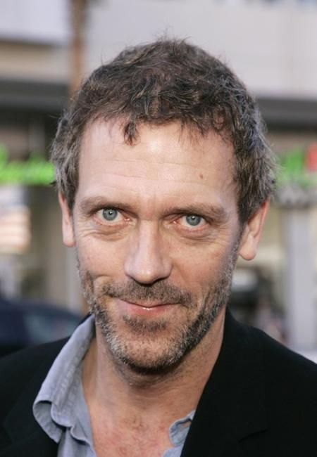Hugh Laurie at the premiere of