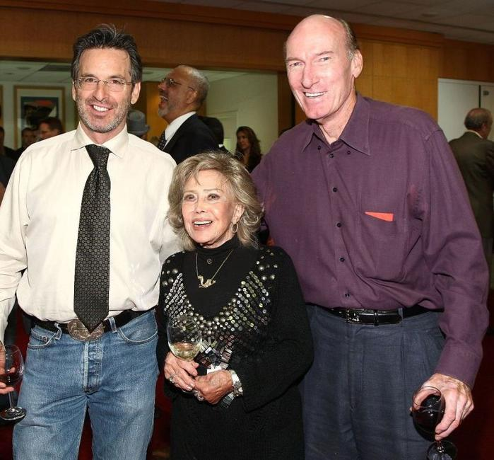 Robert Carradine, June Foray and Ed Lauter at the AMPAS' centennial salute celebration of Joseph L. Mankiewicz.