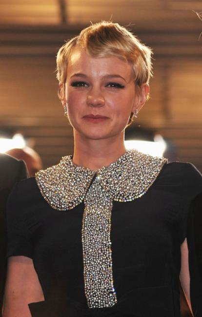Carey Mulligan at the premiere of