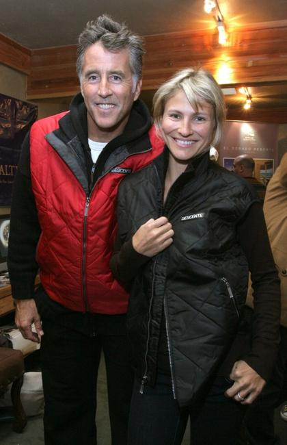 Christopher Lawford and Lana Antonova at the 2007 Sundance Film Festival.