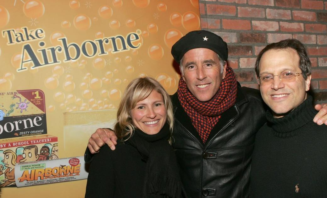 Lana Antonova, Christopher Lawford and Gary Walter at the 2007 Sundance Film Festival.