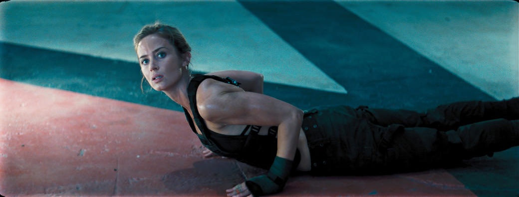 Emily Blunt as Rita Vrataski in