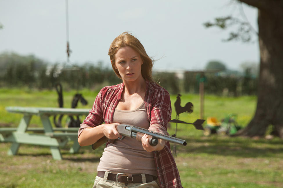 Emily Blunt as Sara in