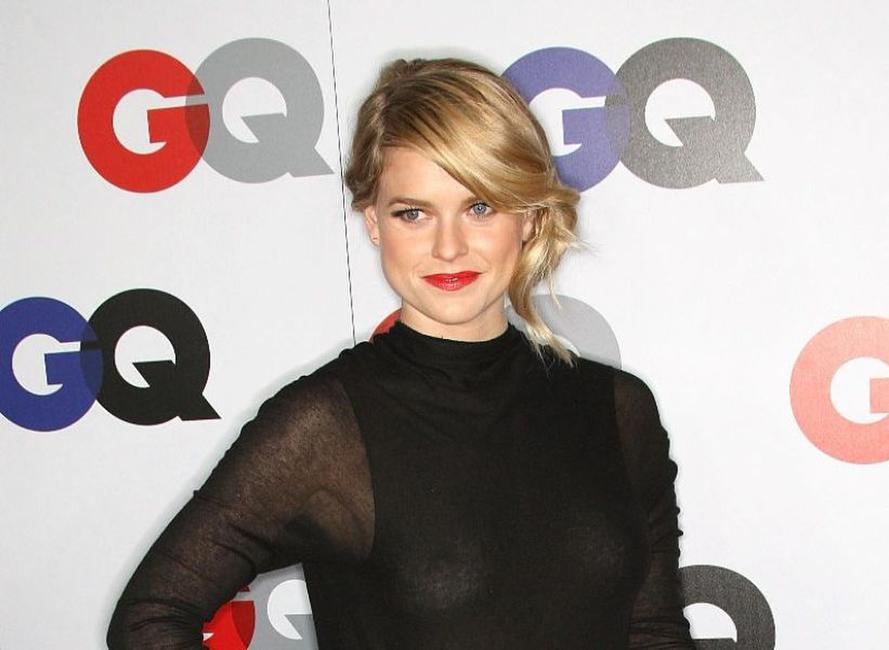 Alice Eve at the 14th Annual GQ Men of the Year party.