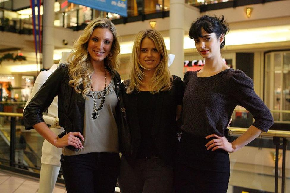 Lacey Wilson, Alice Eve and Krysten Ritter at the