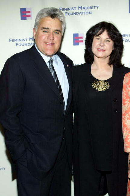 Jay Leno and Mavis at the Feminist Majority Foundation's Inaugural Global Women's Rights Awards.