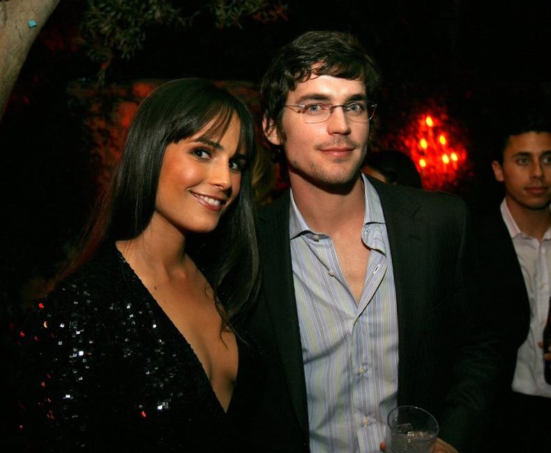 Jordana Brewster and Matthew Bomer at the after party of