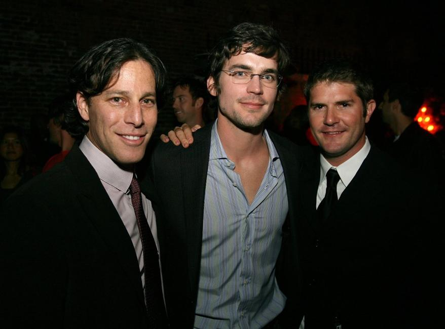 Producer Brad Fuller, Matthew Bomer and Director Jonathan Liebesman at the after party of