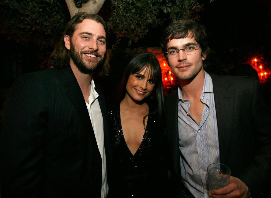 Producer Andrew Form, Jordana Brewster and Matthew Bomer at the after party of