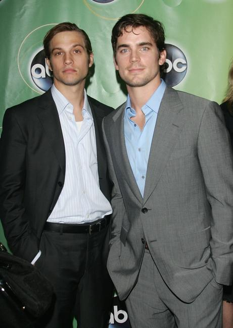 Logan Marshall-Green and Matthew Bomer at the ABC Television Network Upfront.