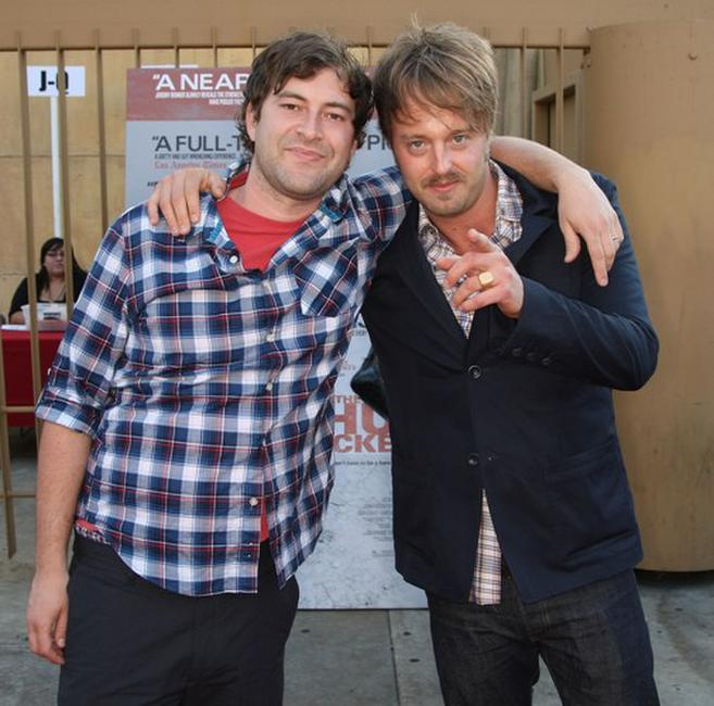 Mark Duplass and Joshua Leonard at the premiere of
