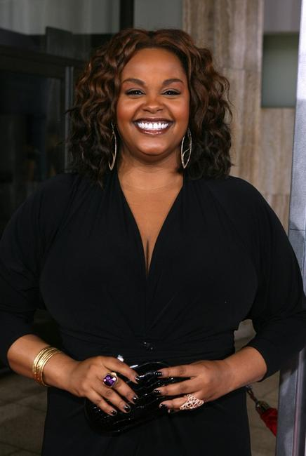 Jill Scott at the premiere of