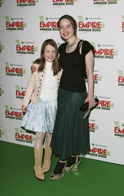 Georgie Henley and Anna Popplewell at the Sony Ericsson Empire Film Awards 2006.
